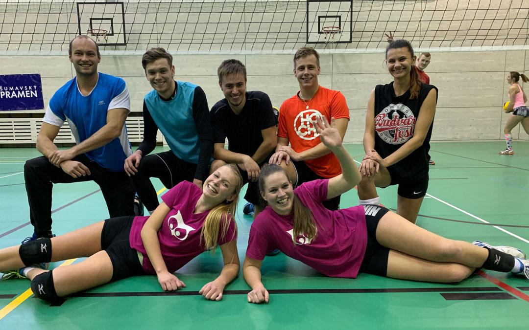 Vysokoškolská volejbalová liga také v Plzni