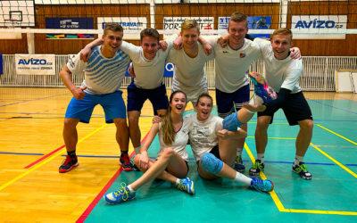 Ticho nevidím vede Vysokoškolskou volejbalovou ligu v Ostravě